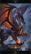 Dragon backdrop