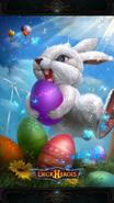 Easter Egg backdrop