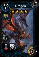 Dragon creature card