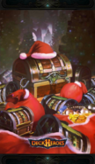 Merry x-mas backdrop