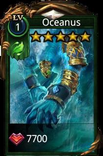 Oceanus hero card