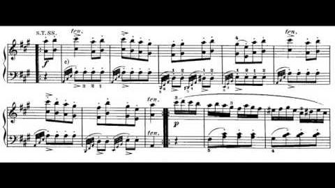 Mozart Turkish March frorm Piano Sonata No 11 in A major KV 331 SD