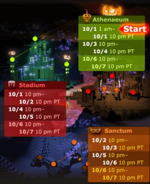 MoT schedule