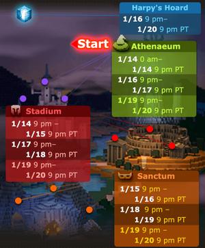 MiT schedule