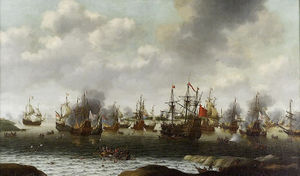 300px-Van Soest, Attack on the Medway