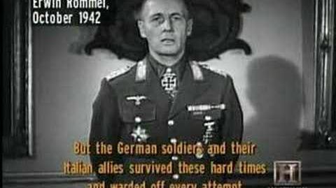 Rommel Speaking