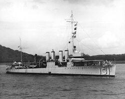 USS Buchanan 1936