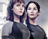 Katniss x Johanna