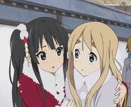 Mio and Tsumugi