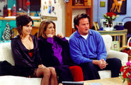 Monica, Rachel and Chandler