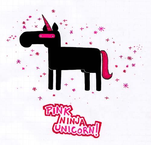 File:Pink NINJA Unicorn by Squeakz.jpg