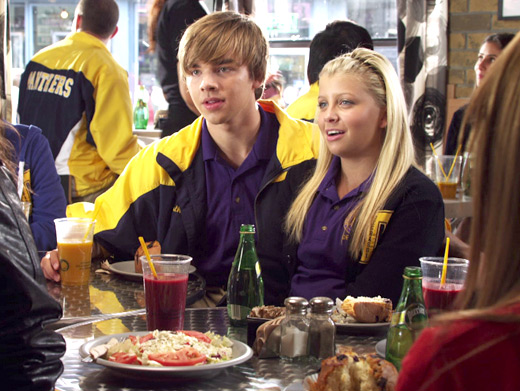 File:KC And Jenna At The Dot In Their Degrassi Uniforms.jpg