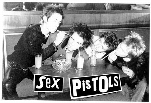 File:Vintage sex pistols music poster sid vicious johnny rotten black and white straws 1 large.jpeg