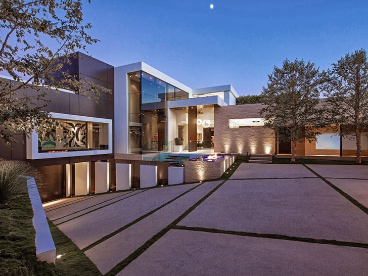 Image perfect modern mansion in beverly hills on world of architecture degrassi wiki - Britains most modern buildings the contemporary design competition ...