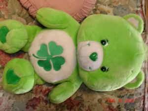 File:Care bear large 28 shamrock lime green care bear 10 high springs gainesville 11000700.jpg