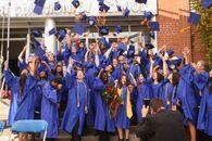 Small graduating class