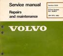 Volvo CI Fuel System Manual