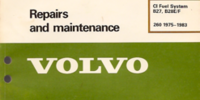 Volvo CI Fuel System Manual