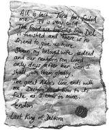 Fake letter dq