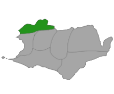 Map of Emerald territory