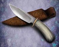Bone handled knife