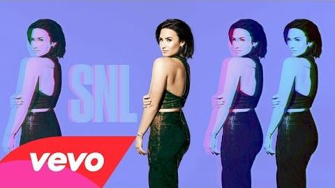 Demi Lovato - Stone Cold (Live on SNL)