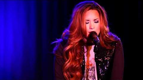 Demi Lovato - Fix a Heart (An Intimate Performance)