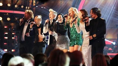 "Demi Lovato sings ""Ain't No Mountain High Enough"" with the Swedish Idols - Idol Sverige (TV4)"