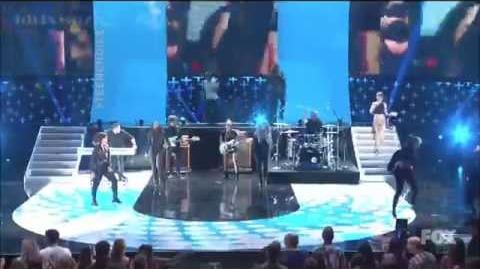 Demi Lovato - Really Don't Care (Teen Choice Awards 2014)