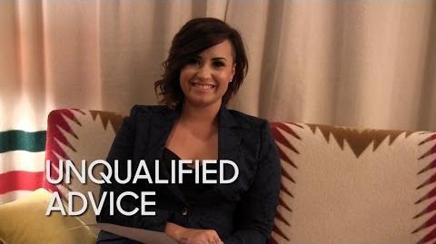 Unqualified Advice Demi Lovato