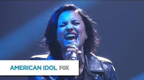 "Demi Lovato Performs ""Stone Cold"" - AMERICAN IDOL"