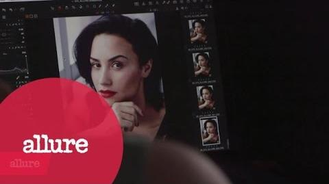 Demi Lovato's February 2016 Allure Cover Shoot
