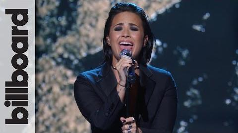 "Demi Lovato - ""Stone Cold"" Live at Billboard Women in Music"