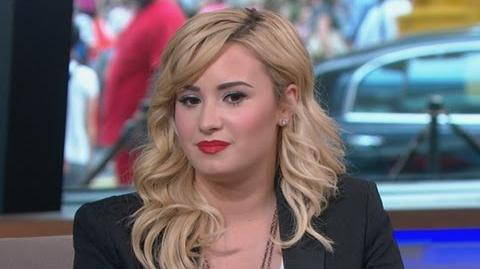 Demi Lovato Interview 2013 Singer on Father's Death, New Scholarship Initiative