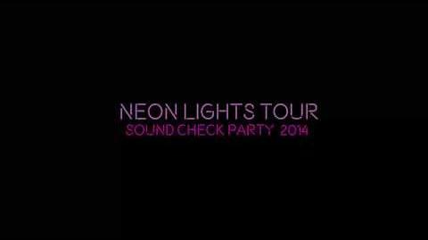 Demi Lovato - The Neon Lights Tour - Soundcheck Parties