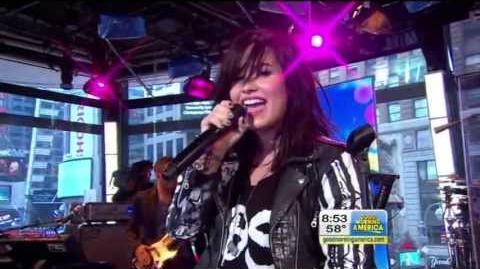 Demi Lovato - Give Your Heart a Break (Good Morning America 2013)