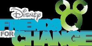 Disney's Friends for Change logo