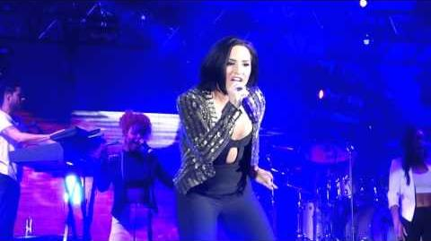 DEMI LOVATO - NEON LIGHTS (LIVE @ WE CAN SURVIVE HOLLYWOOD BOWL 2015 10 24 15)
