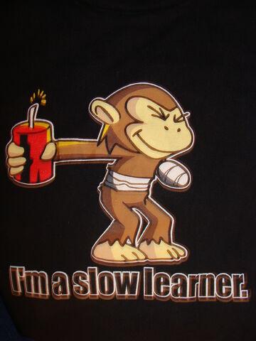 File:Slow learner.JPG