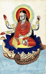 Ganga Kalighat 1875
