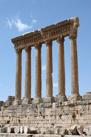 Baalbek - temple of Jupiter