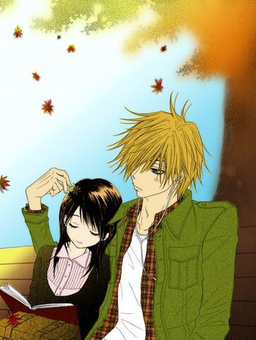 File:Lovers in Fall Dengeki Daisy by OtakuRi.jpg