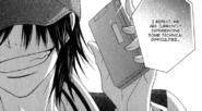Akira has her phone