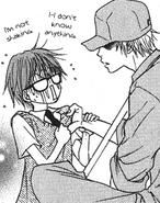 Kiyoshi and kurosaki first meeting