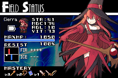 03 Cierra's Status