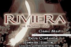Riviera Title Screen 2