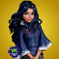 Evie descendants animated