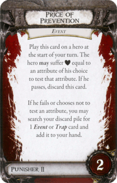 Overlord Card - Price of Prevention