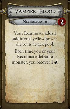 Necromancer - Vampiric Blood