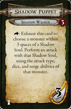 Shadow Walker - Shadow Puppet